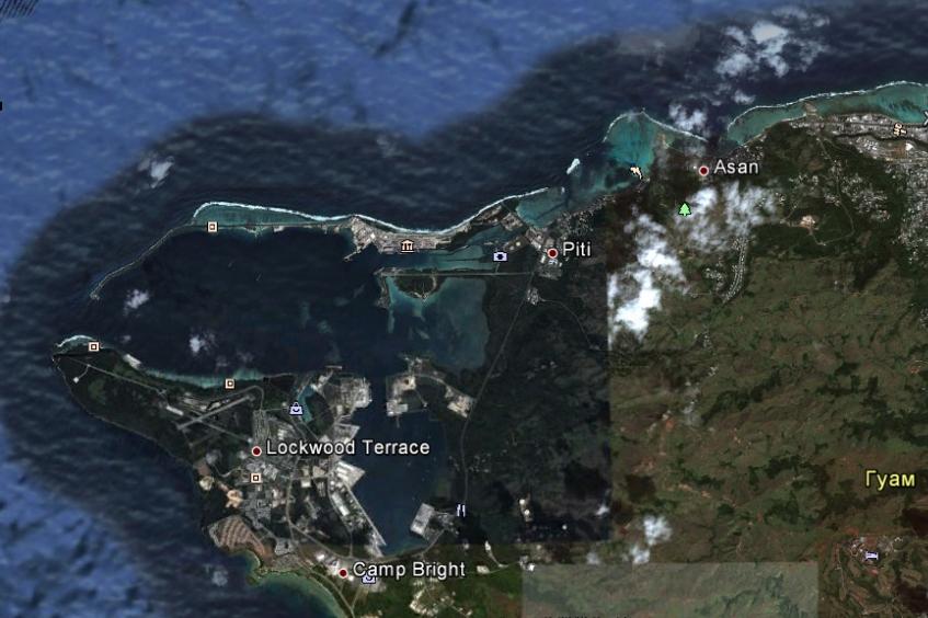 Марианы (Гуам, Сайпан, Тиниан). 17 Декабрь 2012 16:52 шестнадцатое